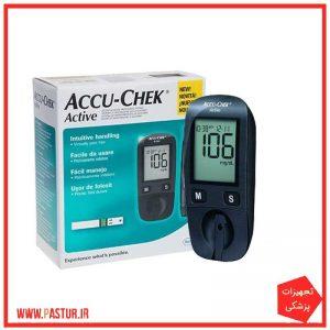 دستگاه تست قند خون آکیوچک مدل AccuChek Active