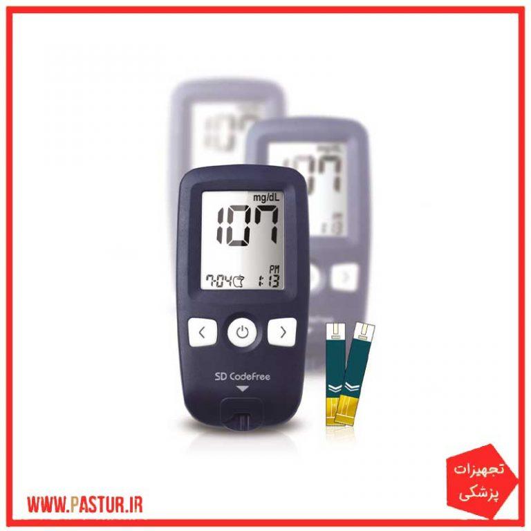 دستگاه تست قند خون کدفری SD