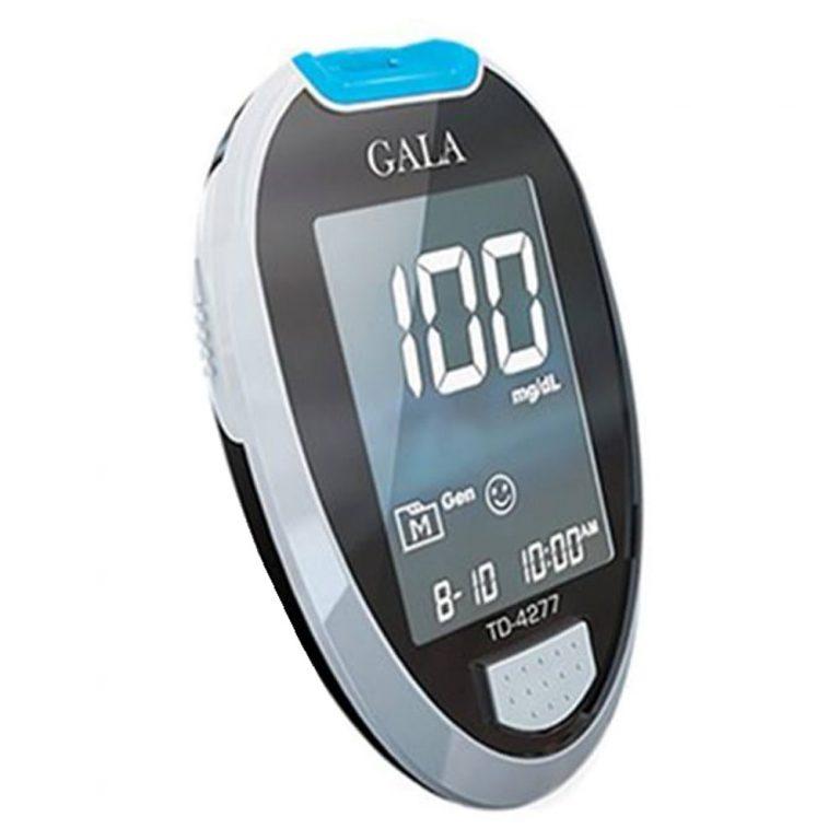 دستگاه تست قند خون گالا + 50 نوار + 10 سوزن