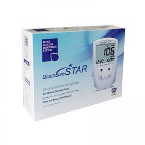 تست قند خون گلوکوشور استار - Glucosure Star