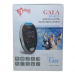 دستگاه تست قند خون گالا مدل Gala TD4277 با 50 نوار اضافه