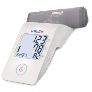 فشارسنج دیجیتال بی ول BWELL MED53 همراه با آداپتور (بازویی)