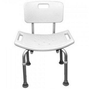 صندلی حمامی آلمینیوم قابل تنظیم ارتفاع